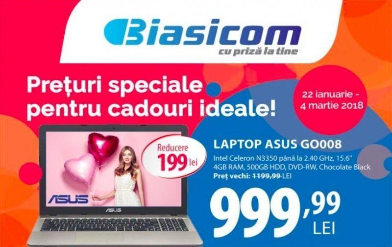 Magazinele Biasicom te întâmpină cu preţuri speciale pentru cadouri ideale!