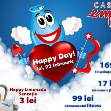 Happy Day cu dragoste, azi, la Casa Ema!