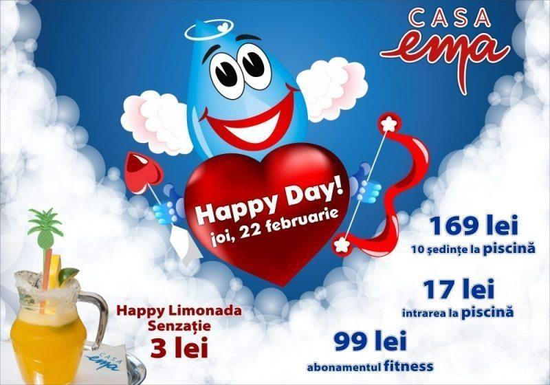 Happy Day cu dragoste, azi, la Casa Ema!