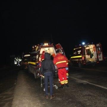 Care este starea persoanelor rănite în accidentul de noaptea trecută de la Ilva Mică