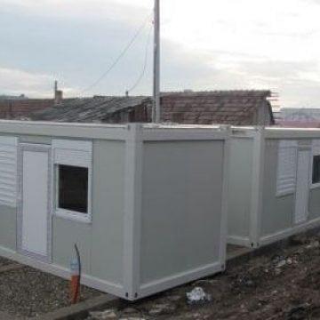 Primăria Bistrița nu renunță la ideea locuințelor-container pentru săraci