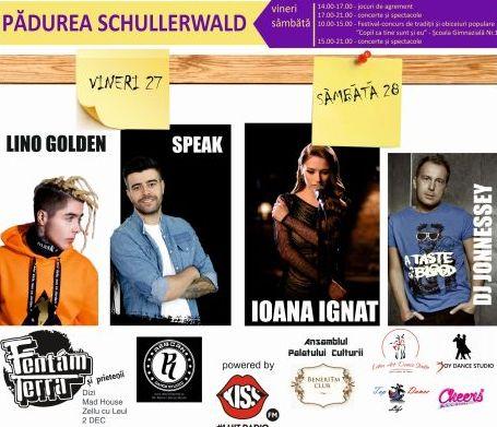 VIDEO – Super concerte vineri cu Fentăm Terra și Mad House, în Schullerwald, de Ziua Tineretului!