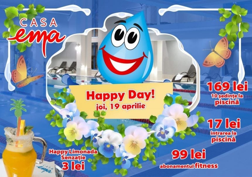 Primul Happy Day de vară la Casa EMA – chiar azi!