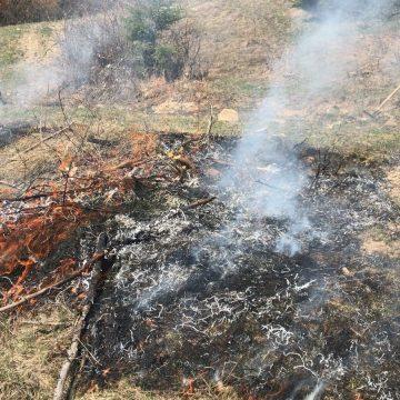Motivul halucinant pentru care deși sunt sute de arderi necontrolate de vegetație, sancțiunile sunt aproape inexistente!