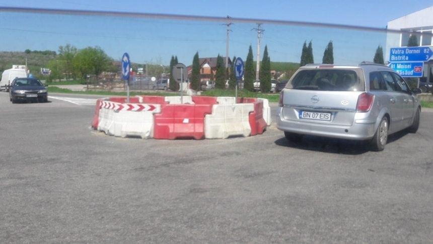 FOTO/VIDEO Sensul giratoriu de la intersecția Drumului de centură cu DN17C: Pro sau Contra?