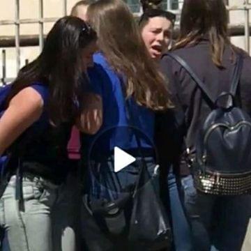 VIDEO. Bătaia – un nou sport practicat în Liceul Sportiv din Bistrița?