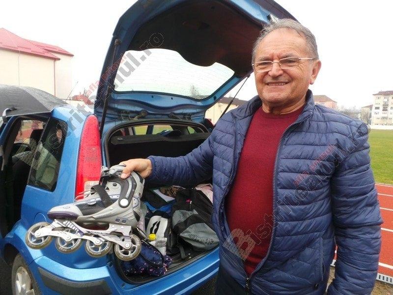 OAMENI din Bistrița-Năsăud:  Niculaie Damian, medic veterinar, pensionar și pasionat de dansul pe role…