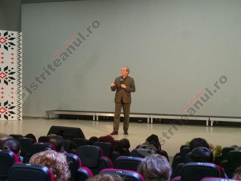 VIDEO:  Dan Puric, la Bistrița, despre privatizarea credinței
