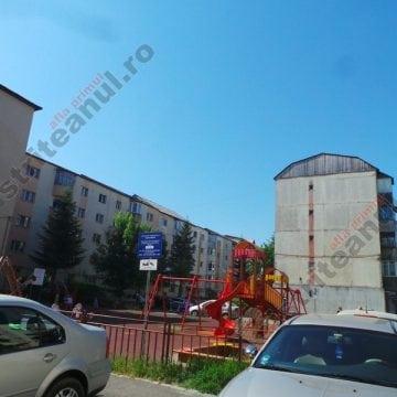 FOTO: Pericol într-un loc de joacă din Bistrița!