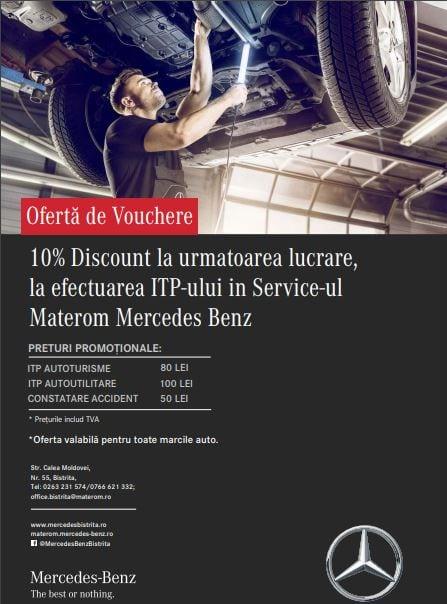 La Materom ai toate serviciile într-un singur loc! Oferta de vouchere la ITP