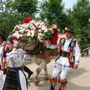 Rusaliile: Mare şi străveche sărbătoare. Azi se pogoară Sfântul Duh și peste Bistrița