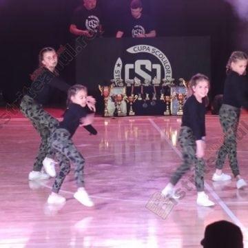 FOTO/VIDEO:  Pentru ei, fericirea înseamnă dans! Marea finală în Cupa Școlilor la Street Dance