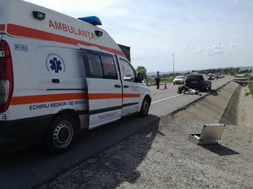 FOTO/VIDEO: Accident grav la Coldău! O femeie e în stop cardio-respirator!
