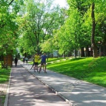 În municipiul Bistrița există un singur parc!