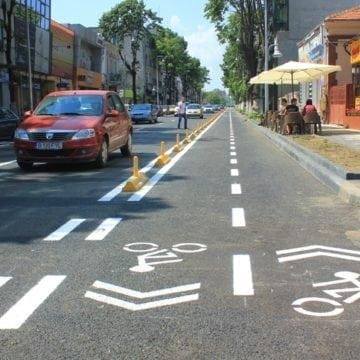 Cu 0 zone pentru cicliști, primăria visează la 26 de kilometri de piste și peste 150 de biciclete de închiriat pentru bistrițeni
