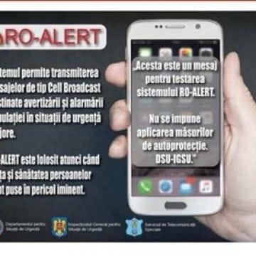 Nu vă panicați: Mesaje de avertizare, pe telefon!