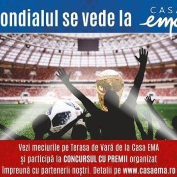 Campionatul Mondial de Fotbal se vede la Casa EMA! SUPER show astă-seară, cu Argentina și Croația!