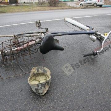 TEACA: Un bunic pe bicicletă i-a tăiat calea unui bistrițean