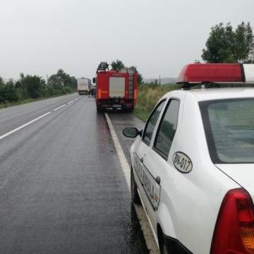 Ăsta da ghinion! O șoferiță a fost lovită de un TIR și un autobuz, în două zile diferite, în același loc