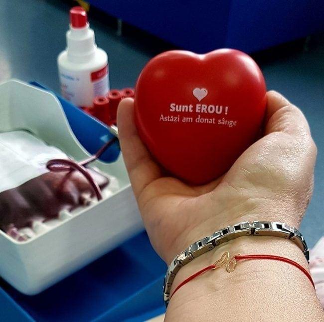 """Apel către donatori: """"Lipsa de sânge ucide!"""""""