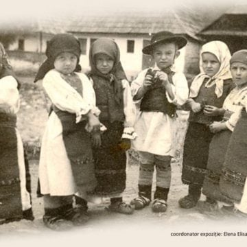 Cum se relaxau și munceau copiii în secolele trecute, la Bistrița