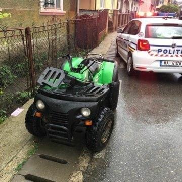 FOTO MAIERU: Doi minori răniți într-un accident cu ATV
