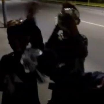 VIDEO ȘOCANT: Patru minori se distrează noaptea trăgând din prenadez