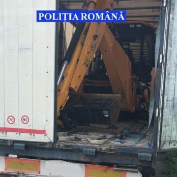 Un buldoexcavator de 100.000 de euro a fost furat azi-noapte. Unde a fost găsit: