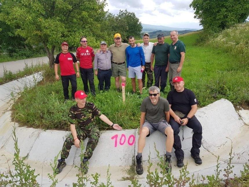 FOTO/VIDEO: Via Transilvanica prinde contur! S-a plantat borna cu numărul 100!