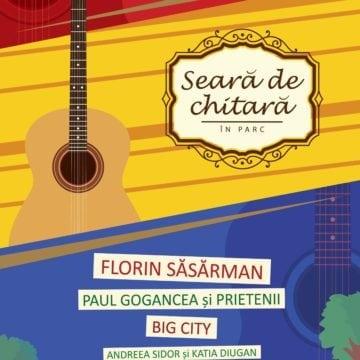 Seară de chitară: Cine va cânta și încânta pe ritmuri de folk