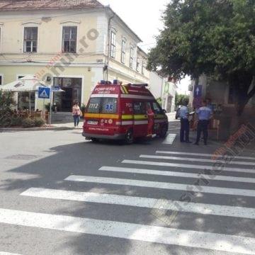 FOTO: Doi pietoni loviți de maşină, într-o oră. Unul, în Bistrița