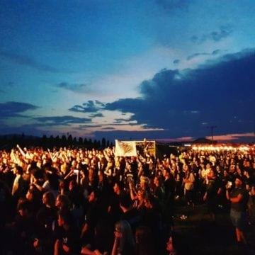 FOTO/VIDEO:  Sute de spectatori au încins atmosfera în prima seară de concerte, la Festivalul Celtic Transilvania