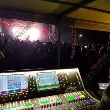 FOTO/VIDEO. Expert Music:  Scenă și sunet ca-n filme, la Festivalul Usturoiului în Ținutul Contelui Dracula!