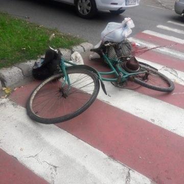 Accidentele cu bicicliști se țin lanț! Unul a fost lovit de un ungur, în această dimineață