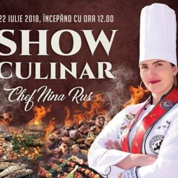 Chef Nina Rus, în acțiune! Show Culinar extraordinar, la Păstrăvăria Rin!
