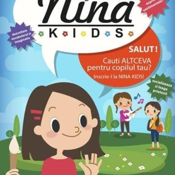 Au început înscrierile pentru noul an școlar, la NiNa Kids! O șansă în plus pentru copilul tău