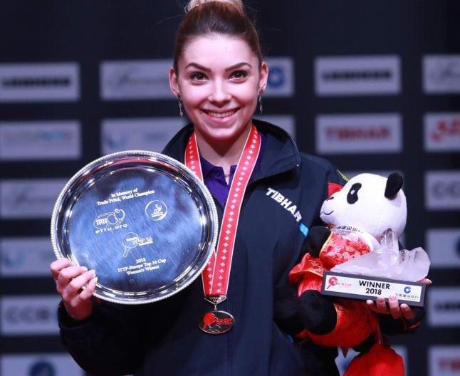 """Prințesa tenisului european, """"adoptată"""" de Bistrița pe când era doar o copilă, va primi titlul de cetățean de onoare al orașului"""