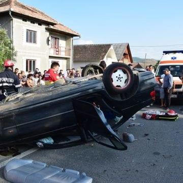 Șoferul vinovat de producerea accidentului mortal din Dipșa, reținut!