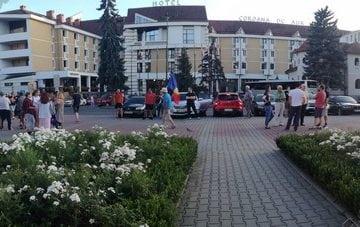 FOTO: Bistrițenii, din nou în stradă!