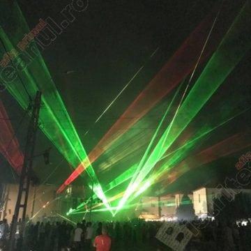 """VIDEO: S-a """"tras"""" cu laser, aseară, la Rodna…!"""