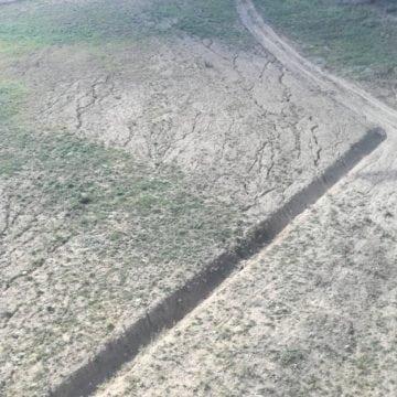 FOTO – Cu șanțuri – așa a fost ferită pârtia de schi de mai multe stricăciuni cauzate de ploile abundente de luna trecută