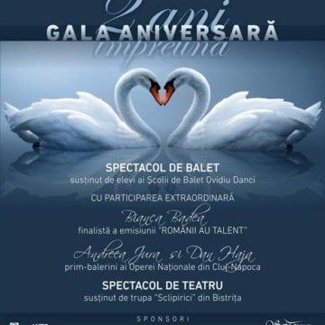 ȘCOALA DE BALET OVIDIU DANCI: Doi ani de pasiune, educație și frumusețe, sărbătoriți cu trupa Sclipirici și talentata Bianca Badea