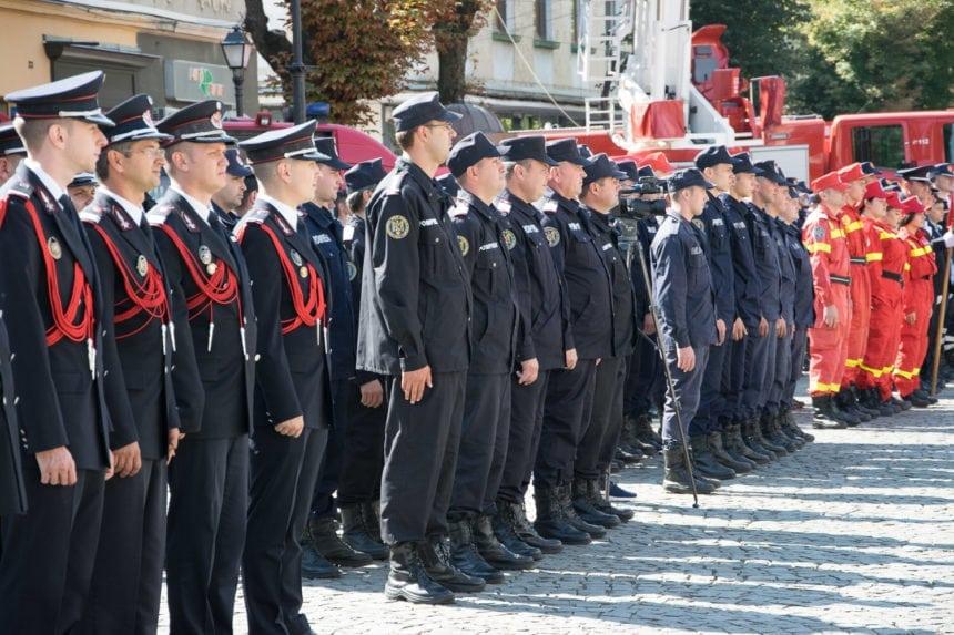 Pompierii bistrițeni, în TOP 5 cei mai rapizi în răspunsul la intervenții, din țară. Bilanțul pe 2018