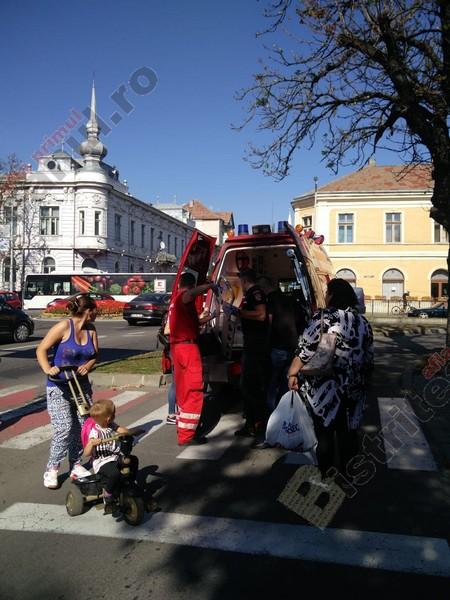 FOTO: Încă un accident pe trecerea de pietoni, la Poșta Veche!
