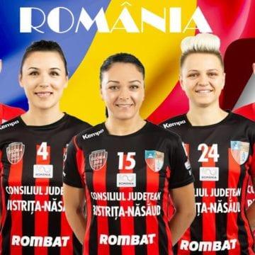 Trei handbaliste ale clubului Gloria, alese în Naționala României. Alte două se pregătesc alături de Naționala Spaniei