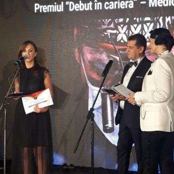 RECUNOAȘTERE: Un tânăr medic de la Spitalul Județean a fost premiat într-una din cele mai importante gale dedicate lumii medicale