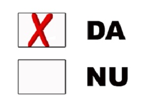De Referendum vor spune DA! În fața oficialităților!