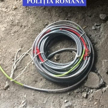 Au fost prinși hoții care au furat cablurile de la tiroliana din Aventura Parc