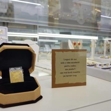 Lingoul de aur de la Atlantis Gold- noul trend în materie de cadouri sau investiții