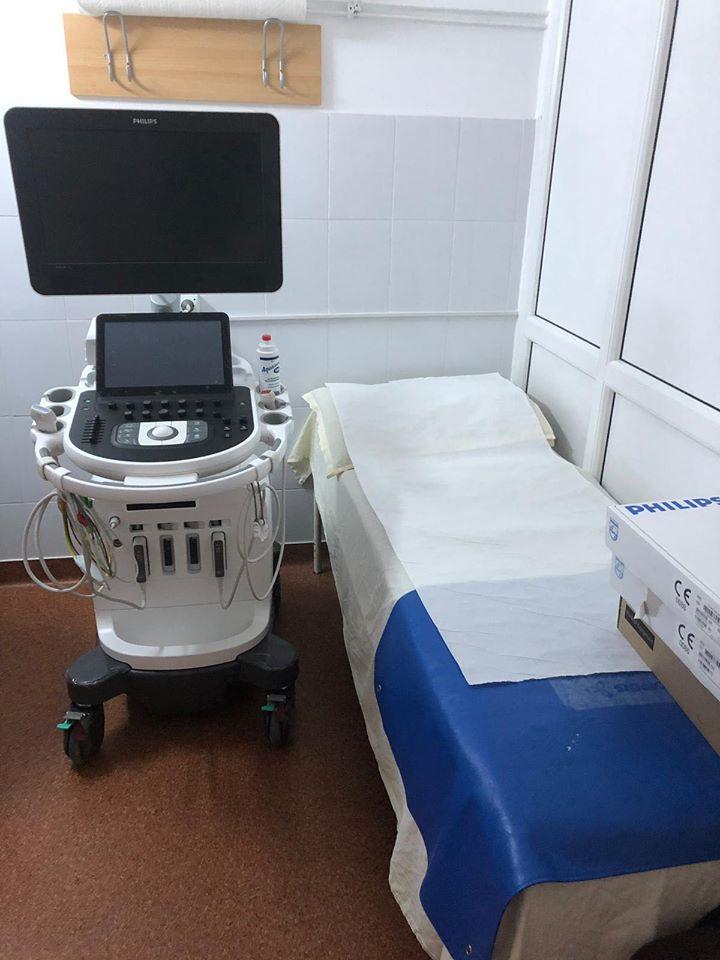 Un ecograf ultraperformant a ajuns la Spital! Mii de pacienți au nevoie de el